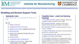 Modelling and Decision Support Toolkit